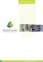 Plaquette Maître Cube